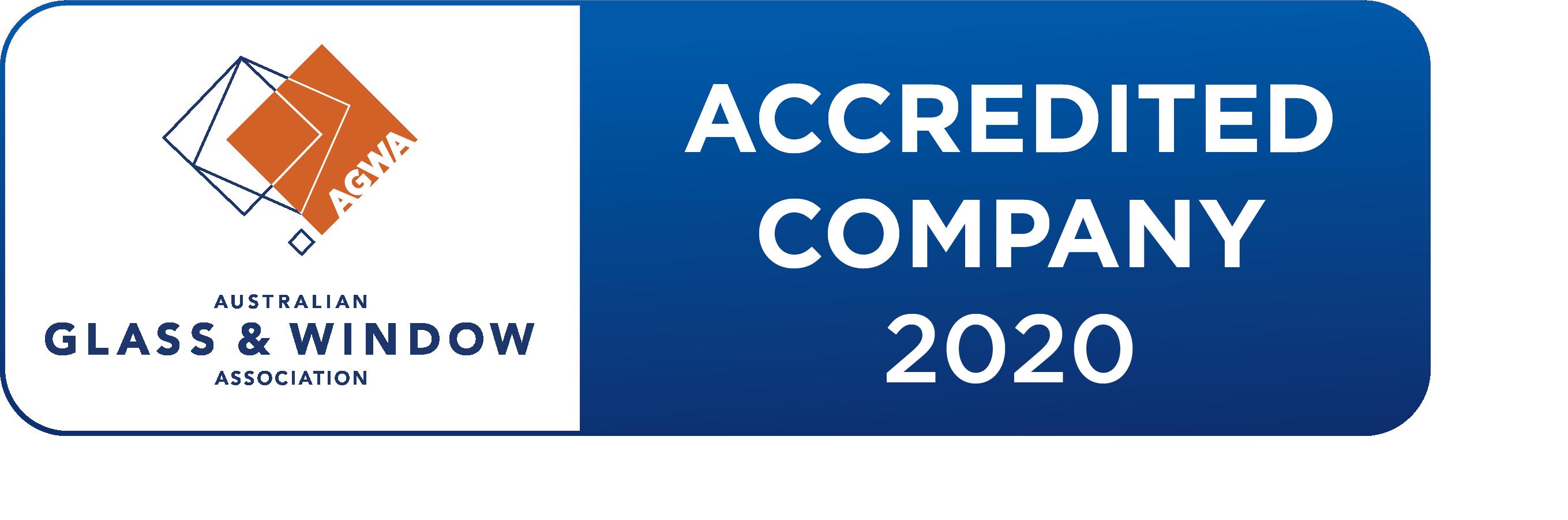 ACCREDITED COMPANY 2020 Logo